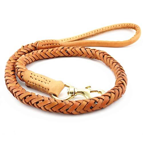 DLwbdx Dog training rope traction rope hand-held high-grade cortex