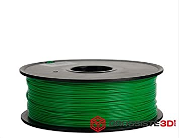 Filamento PLA 3.00 mm 3d color verde inalámbrico 3d Printer ...