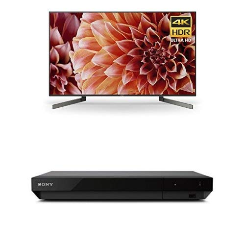Sony XBR49X900F 49-Inch 4K Ultra HD Smart LED TV and UBP-X700 4K Ultra HD Blu-ray Player