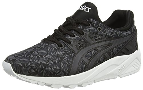 Asics Gel-Kayano Trainer Evo - Scarpe da Ginnastica Basse Unisex – Adulto, Rosa (Knockout Pink/Light Grey 2013), 44 EU Nero (Black/Dark Grey 9016)