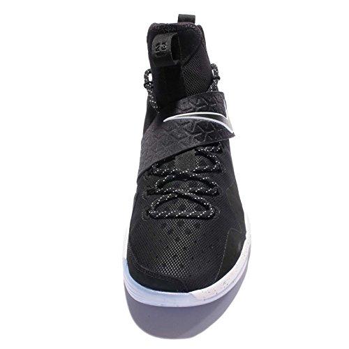 Nike Hombres Lebron Xiv Ep, Negro / Blanco-hielo Negro / Blanco-hielo
