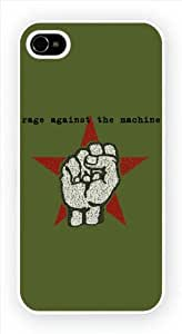Rage Against The Machine - Fist iPhone 4 4s Case by runtopwell