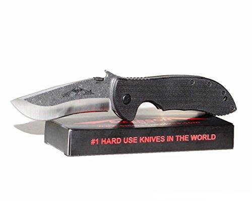 Emerson-Commander-Plain-Folding-KnifeStandard-Edge-Blade-Black-G10-Handle-COM-SF