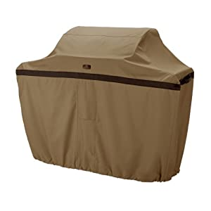 Classic Accessories Hickory Water-Resistant 64 Inch BBQ Grill Cover
