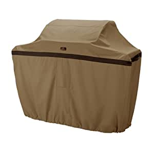 Classic Accessories Hickory Grill Cover - Rugged BBQ Cover with Advanced Weather Protection, Medium, 58-Inch