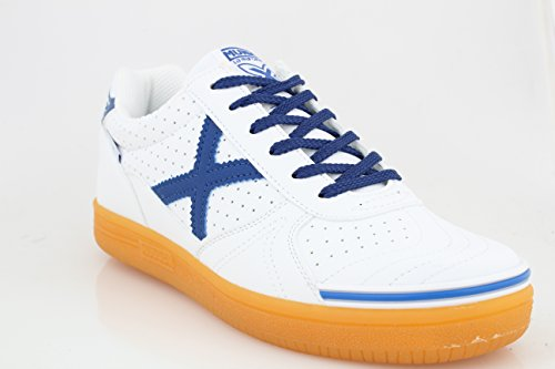 En Spécial Bleu Homme Chaussures Blanc Munich Pour Foot Salle 4wFqXF1Bt