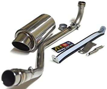 Aodonly Racing Low Mount Exhaust Stainless Steel for Kawasaki z125 Z125 pro all model