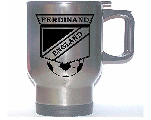 (Rio Ferdinand (England) Soccer Stainless Steel Mug )