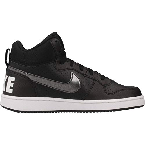 Noir black Nike 004 De Borough Court White Femme Mid Chaussures Fitness gs 8w8OgTUcx