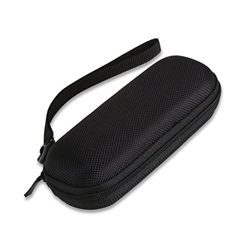 AGPTEK Voice Recorder Slim Case, EVA Zipper Carrying Hard Case Cover for EVISTR, Sony, Olympus, Lyker, DGFAN, Yemenren, Dictopro,aTTo digital & More Compact Voice Recorders - Black