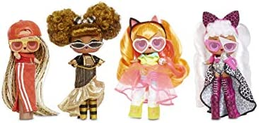 L.O.L. Surprise! JK Queen Bee Mini Fashion Doll with 15 Surprises