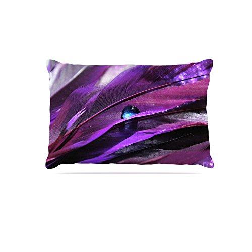 Kess InHouse Susan Sanders Birds of a Feather  Fleece Dog Bed, 50 by 60 , Nature Purple