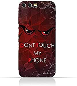 Huawei Honor 9 TPU Silicone Case With Do not Touch My Phone 3