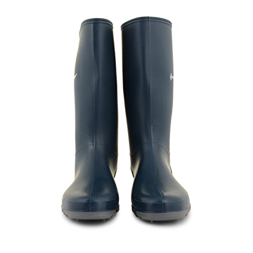 Rain Blue Snow Ladies 8 Mid Grey Wellies Calf Women's UK Sizes 3 Waterproof Mud Snow Wellingtons Dunlop Boots Festival Wellies BxqAzF