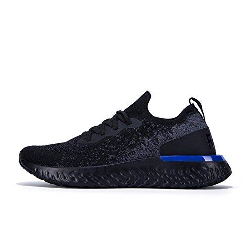 Chaussures Sport Formateurs Léger Athlétique Walk Baskets Black Course Poids Running Homme Engrener de rr6UwqT