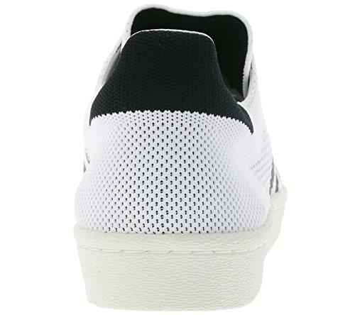 Bb0190 3 Bianche Formatori 46 Dimensione Adidas 2 Uomini Superstar Primeknit Degli Originals Spinta 80RUq6w