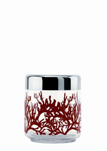 """Alessi ESI12"""" Kitch 0,75""""""""Mediterraneo"""" 0.75 Liter Kitchen Box, 0.75 l, Silver"""