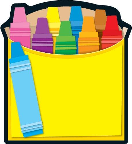 Carson Dellosa Crayon Box Notepad -