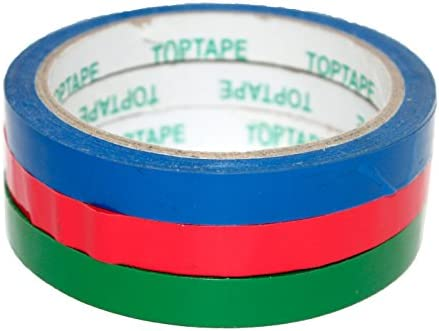 Pack de 6 Rollos de precinto para Bolsas 1.1 cm x 50 m: Amazon.es: Hogar