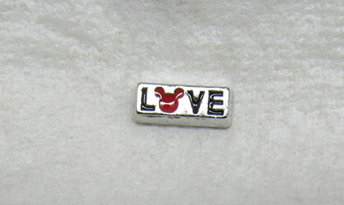 Disney Mickey Mouse Silver Love Floating ()