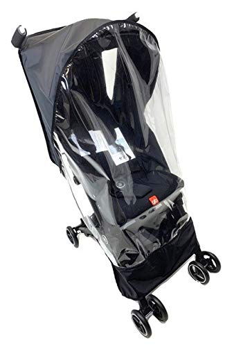 Sashas Rain and Wind Cover for gb Pockit Plus Light Weight Stroller by Sasha Kiddie Products