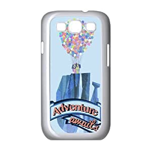 Adventure Is Out There Samsung Galaxy S3 9 Cell Phone Case White Phone Accessories VR67K431