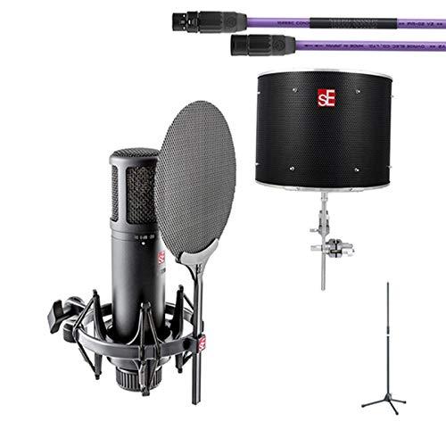 sE Electronics sE2200+ケーブル、マイクスタンド+Relexion Filter PRO B07J561M63 PRO BKセット sE B07J561M63, ナカイニット:eecb3abe --- pvosasco.org.br