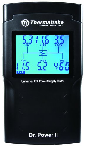 Thermaltake Dr. Power II Automated Power Supply Tester Oversized LCD for All Power Supplies - AC0015 by Thermaltake