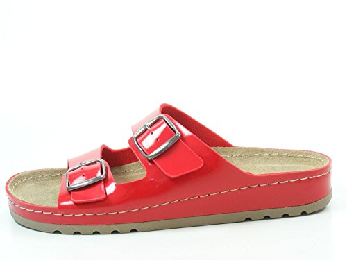 Rohde femme Rouge 5802 Rohde Mules femme Mules Rouge 5802 0xaAqv0w