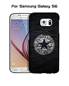 Cool Funda Case for Samsung Galaxy S6 Brand Logo Converse Ultra Thin Slim Dust Proof Impact Resistant Tough Customized