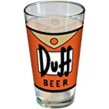 ICUP Simpsons Duff Pint Glass, Clear