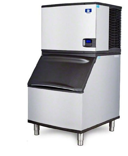 B570 Bin (Manitowoc IY-0606A_B-570 635 Lb Air-Cooled Half Cube Ice Machine w/ Storage Bin)