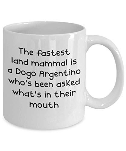 Dogo Argentino Mugs - White 11oz 15oz Ceramic Tea Coffee Cup - Perfect For Travel And Gifts 2