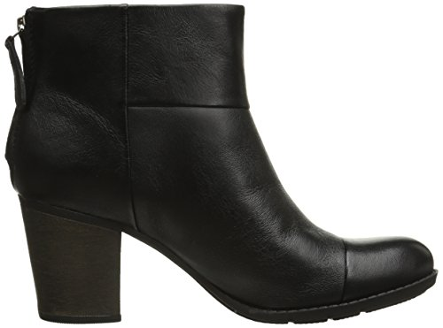 Black Clarks Tess Enfield Leather Women's Smooth Boot wrIp6rqx8
