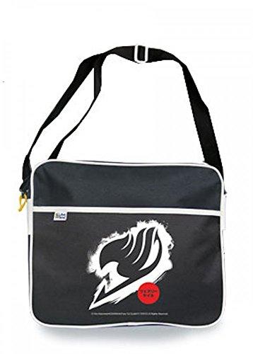 Fairy Tail - Logo Tasche - Original 100% Polyester Schwarz Manga | Anime