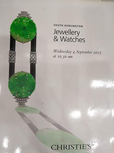 Christie's South Kensington Auction Catalogue, Jewellery, Wristwatches And Accessories, 13 April 2000