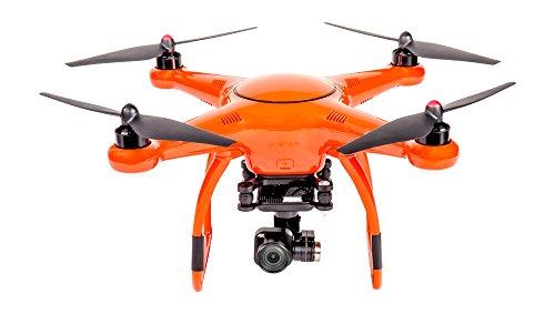VOOCO X-Star Premium Drone with 4K Camera, 1.2-Mile HD Live View & Hard Case (Orange) by VOOCO