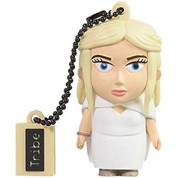 Tribe Games of Thrones Pendrive Figure 16 GB Funny USB Flash Drive 2.0, Keyholder Key Ring, Daenerys (FD032503)