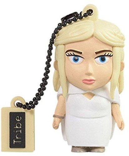 Tribe Games of Thrones Pendrive Figure 16 GB Funny USB Flash Drive 2.0, Keyholder Key Ring, Daenerys (FD032503) External Dragon Drive