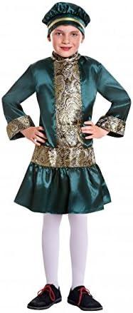 Disfraz de Paje Gorro Verde infantil A-(3/4A): Amazon.es: Juguetes ...