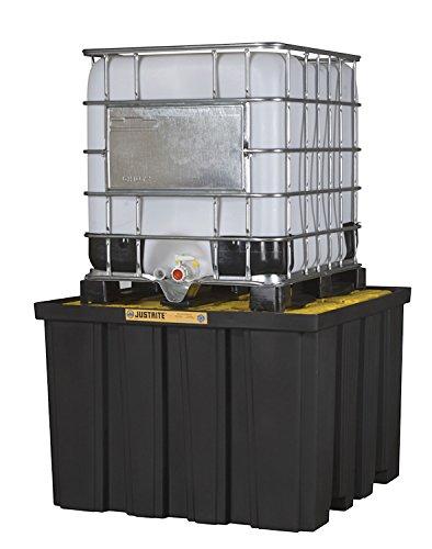 Justrite Manufacturing Company LLC 28674 - IBC Pallet, Sump Capacity: 372gal, Dimensions: 55 x 55 x -