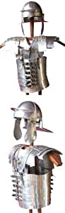Römer Lorica Segmentata con casco, aluminio, fácil
