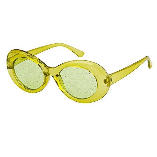 Aliens Frame de Film de Sol Moda Fluorescentes de Green Warmman Green de Interesantes Gafas Sol Gafas Gafas Party Accesorios Sol Trend wROwCq6Ut
