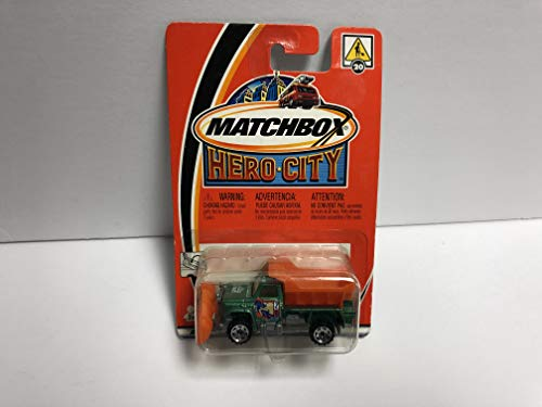 Highway Maintenance Truck 2002 Matchbox Hero City 1/64 Scale diecast car No 20