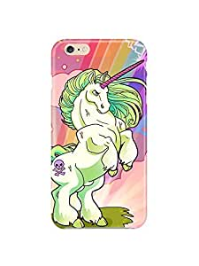 "i6p 0638 My pretty little Unicorn Glossy Case Cover For IPHONE 6 PLUS (5.5"") by mcsharks"