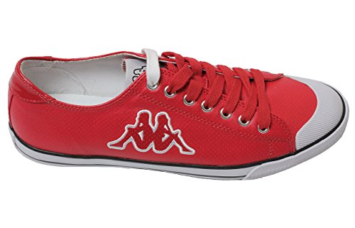 kappa-mens-designer-basketball-retro-odell-mayba-synthetic-red-white-cross-trainer-shoes-8-uk