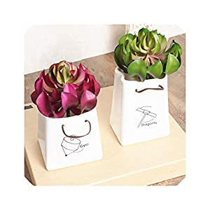 Artificial Fleshiness Cactus Aloe Succulent Plant Chitose Lotus Landscape Pu Flower Home Balcony Decoration 32