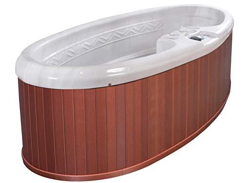 QCA Spas Model 0 Gemini Plug and Play Hot Tub, 92 by 42 by 29-Inch, SIERRA