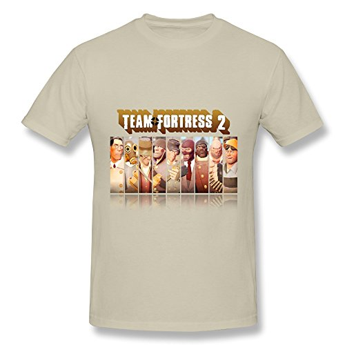 HUBA Men's T-shirt Team Fortress 2 Natural Size XS