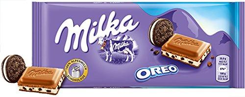 Milka & Oreo Chocolate Bar Candy Original German Chocolate 100g/3.52oz